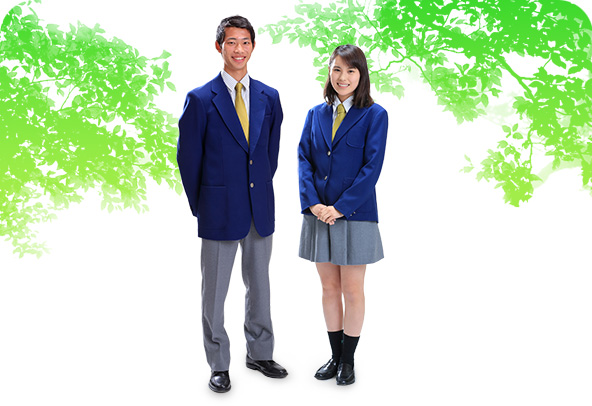 国際基督教大学高等学校制服画像